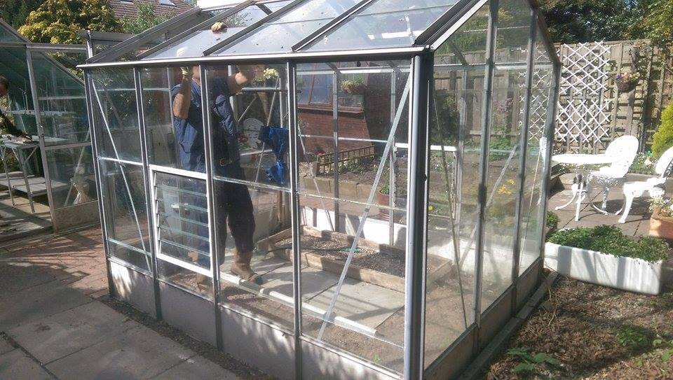 Greenhouse dismantled and removed from Thornaby